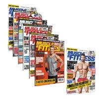 Muscle and Fitness magazin 2018 év összes lapszám